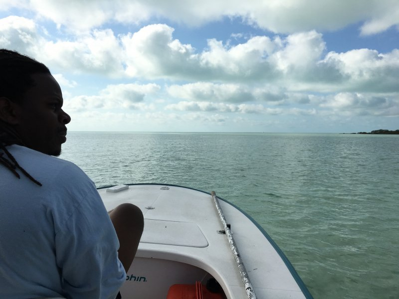 heading to the cays south of South Andros
