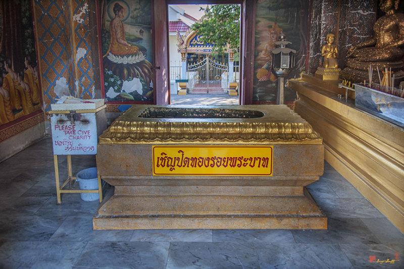 Wat Khao Phra Bat Pattaya Shrine Buddhas Footprint (DTHCB0059)