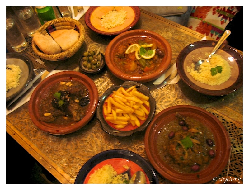 I am so looking to eat the moroccan cuisine here!