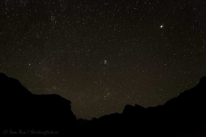 Yosemite Valley Starry Night