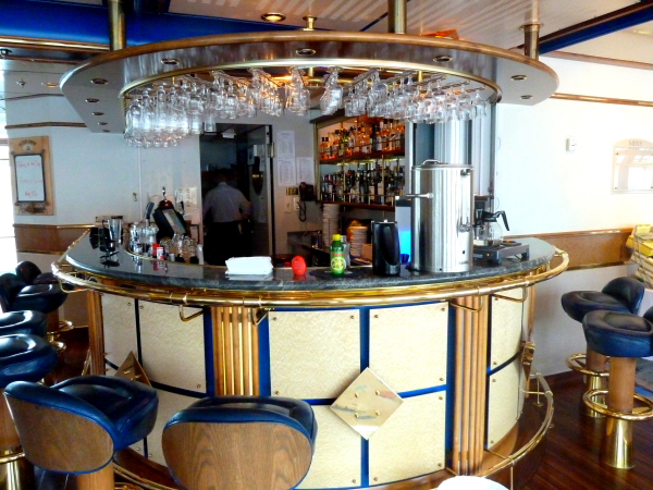 NORDNORGE - Bar Area on visit @ Honningsvag,North Cape, Norway
