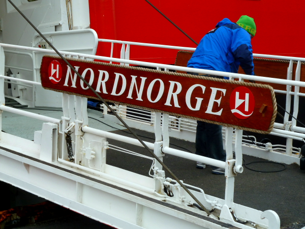 NORDNORGE - Entrances on visit @ Honningsvag, North Cape, Norway
