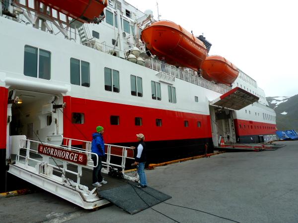 NORDNORGE - Entrances visit @ Honningsvag, North Cape, Norway