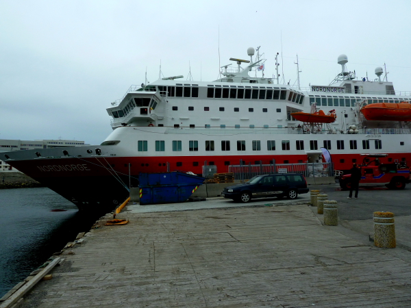 NORDNORGE - on visit @ Honningsvag, North Cape, Norway