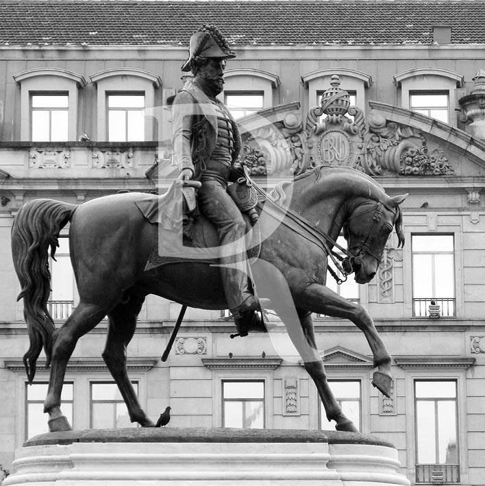 D. Pedro IV, no Porto