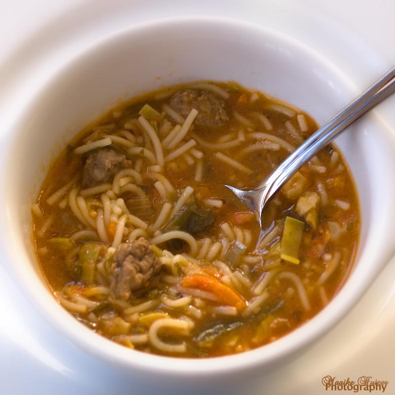 8 - His Soup