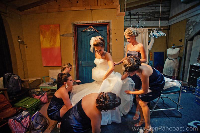 A Blue Dress Barn Wedding: Scott + Jessie