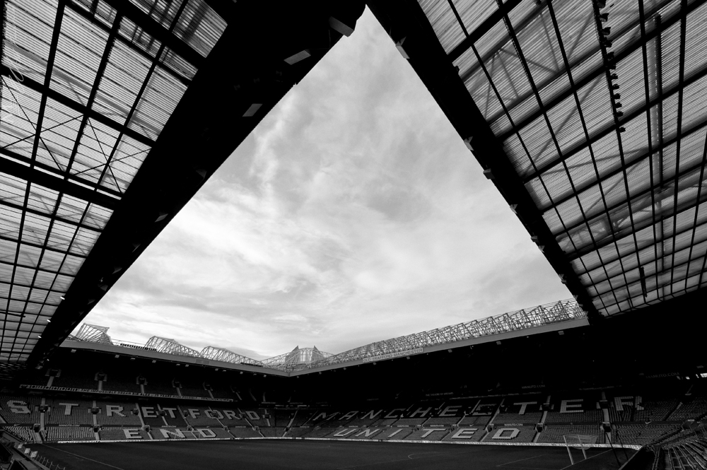 Manchester United - Old Trafford - Roof on the Theater of Dreams