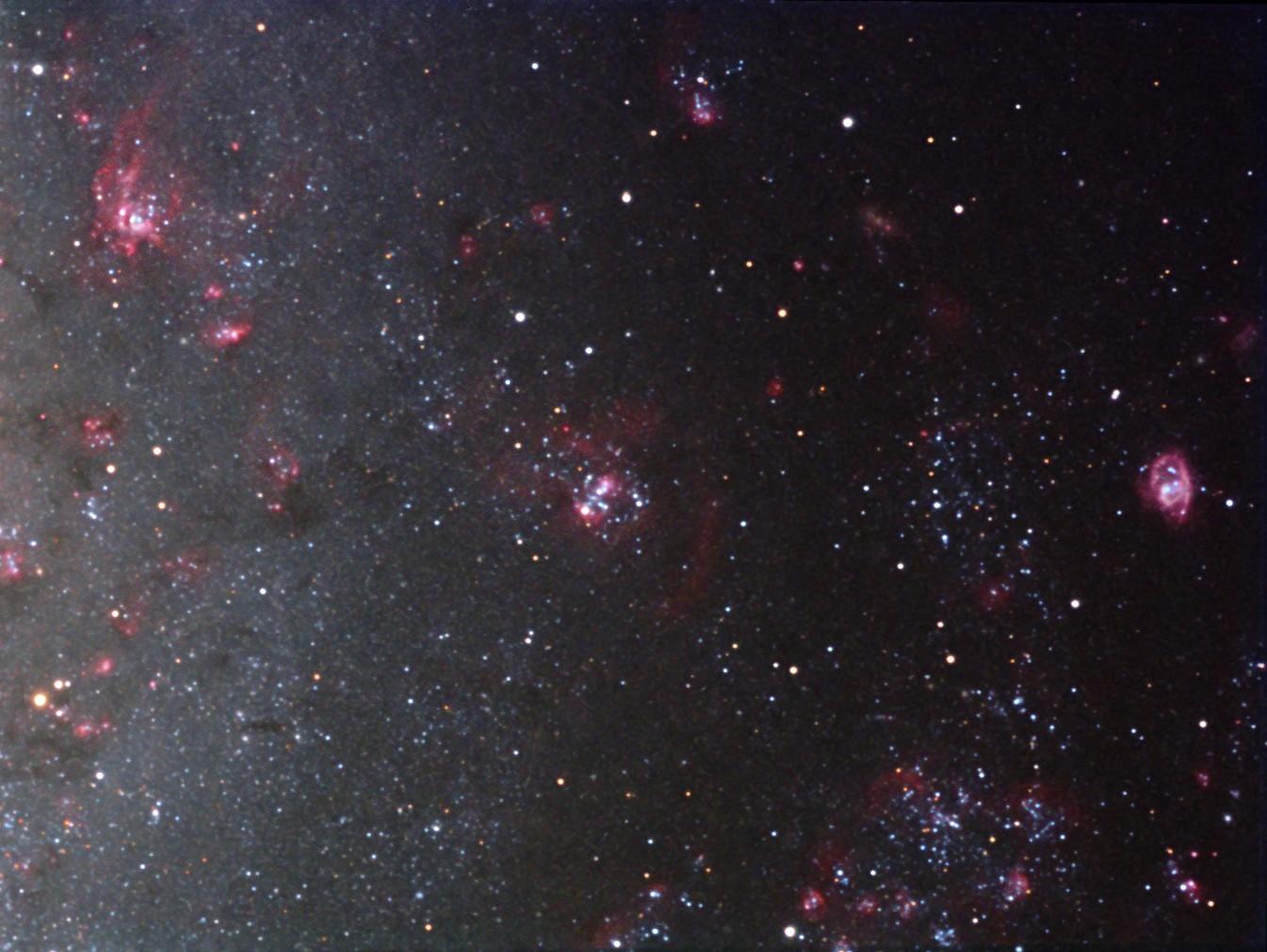NGC 588, NGC 592, NGC 595