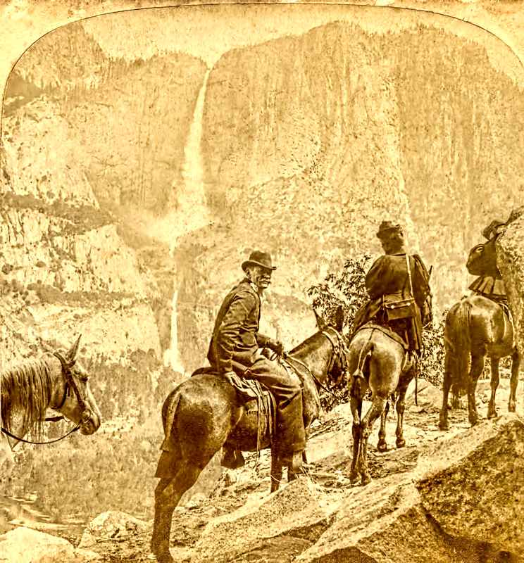 Yosemite Falls from the Glacier Point Trail