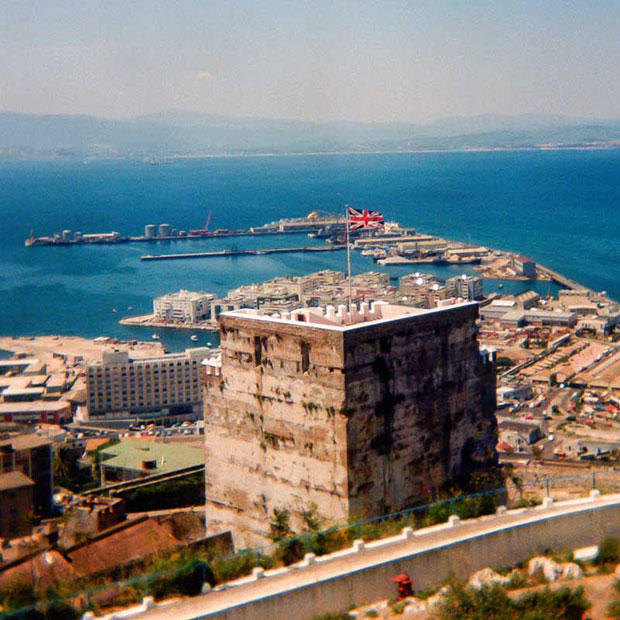 Gibraltar_06.jpg The Tower of Homage - © A Santillo 1979