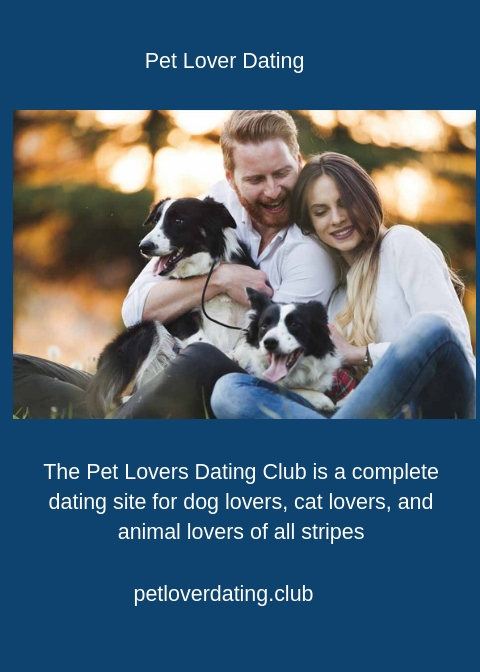Pet lover dating site