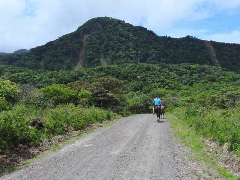 Horse-back riding at Miravalles