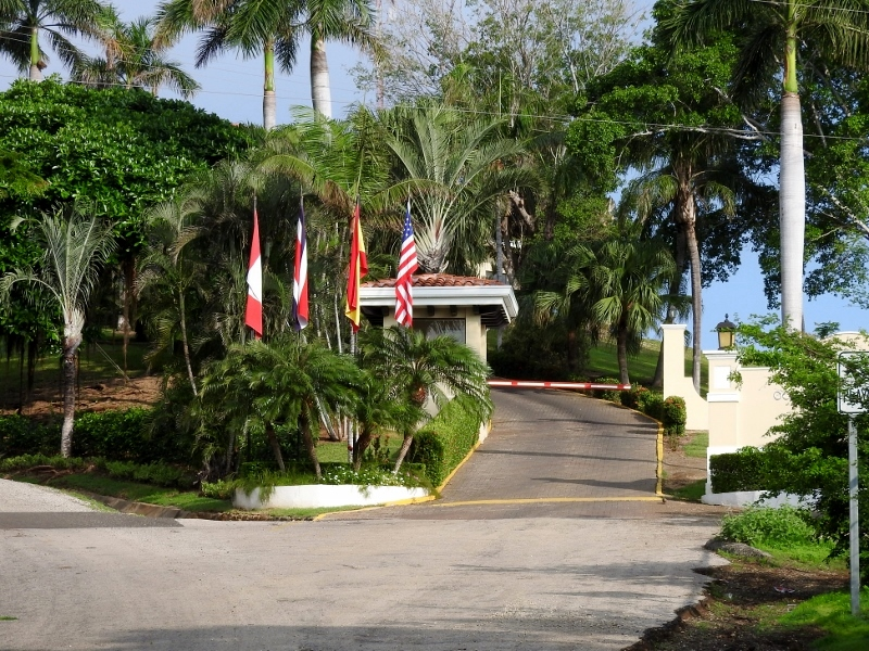 Entrance to the Occidental