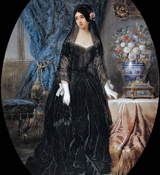 1840 - Marie Duplessis, La Dame de Camelias