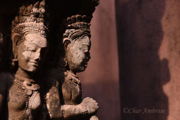 Carving at Terrace of the Leper King