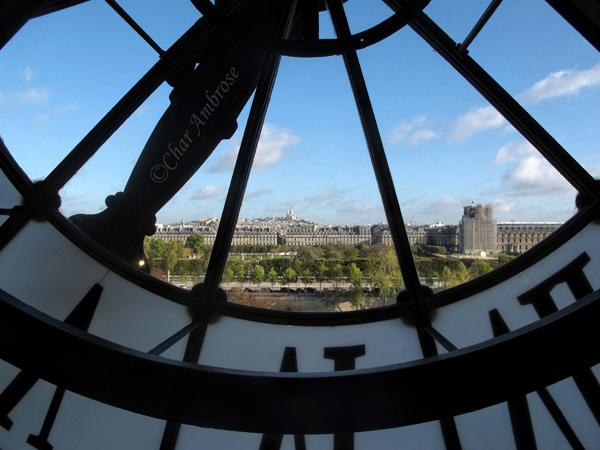 Musee dOrsay Clock Window