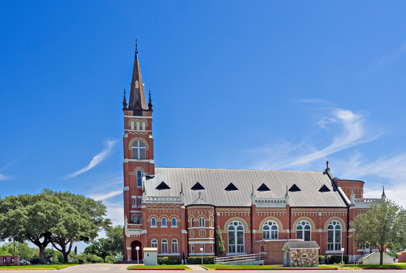 St Cyril and Methodius Church, Shiner, TX
