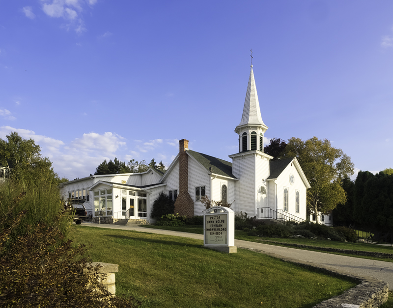 Ephraim Moravian Church. Sister Bay, WI