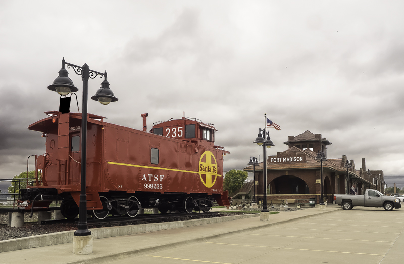 Fort Madison, Iowa Train Depot