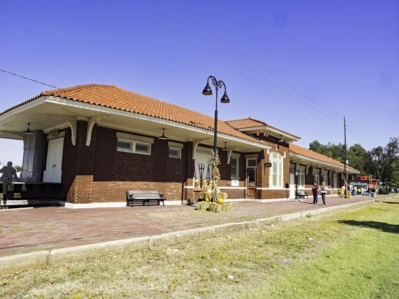 Train depot, Sikeston, MO