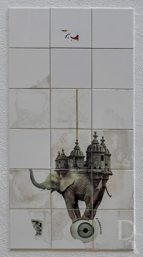 Paratissima Lisboa - #Surrealejos  de Luca Colapietro