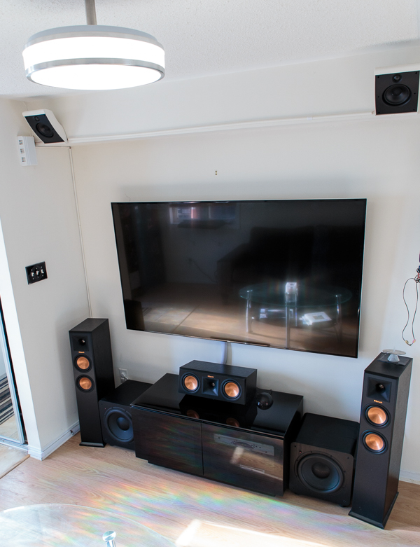 Through the years: a modest living room setup - Blu-ray Forum