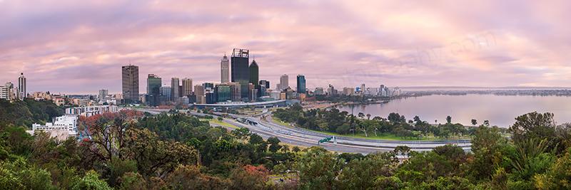 Perth Sunrise, 17th June 2013