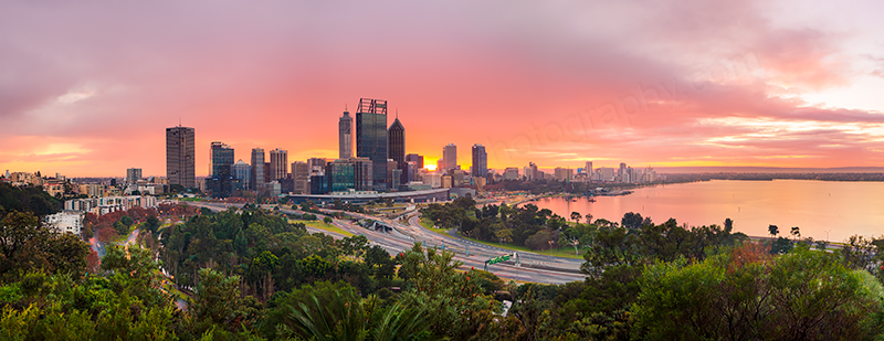 Perth Sunrise, 4th July 2013