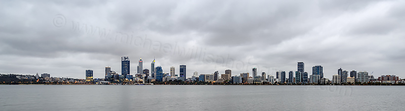 Perth and the Swan River at Sunrise, 26th February 2018