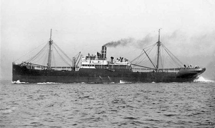 D/S General Munthe - 19.12.1917: Rent i senk av svensk TORVALD - Landskrona, 1179/79,  4 nm nord av Dieppe, Frankrige.