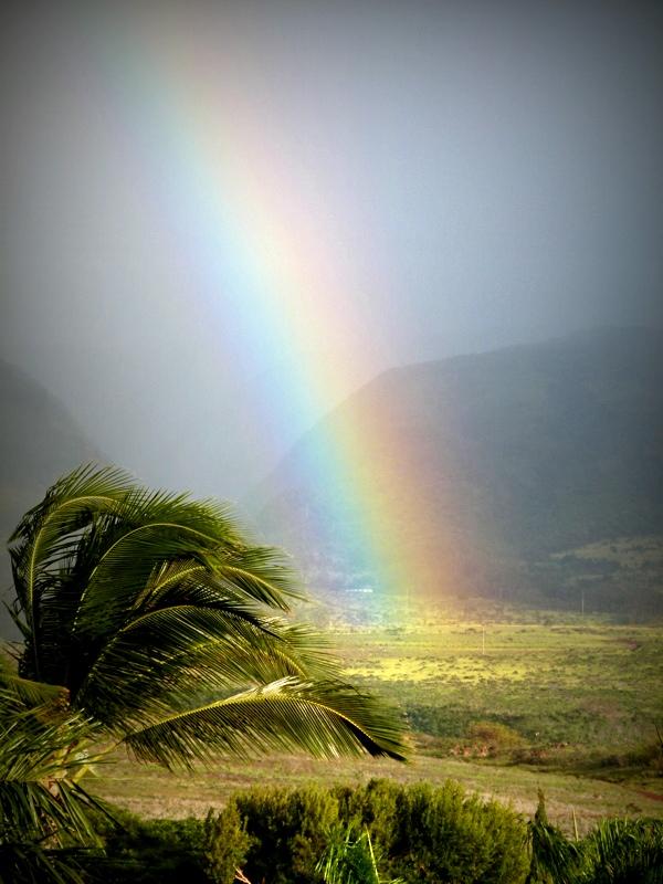 Somewhere over the rainbow ......