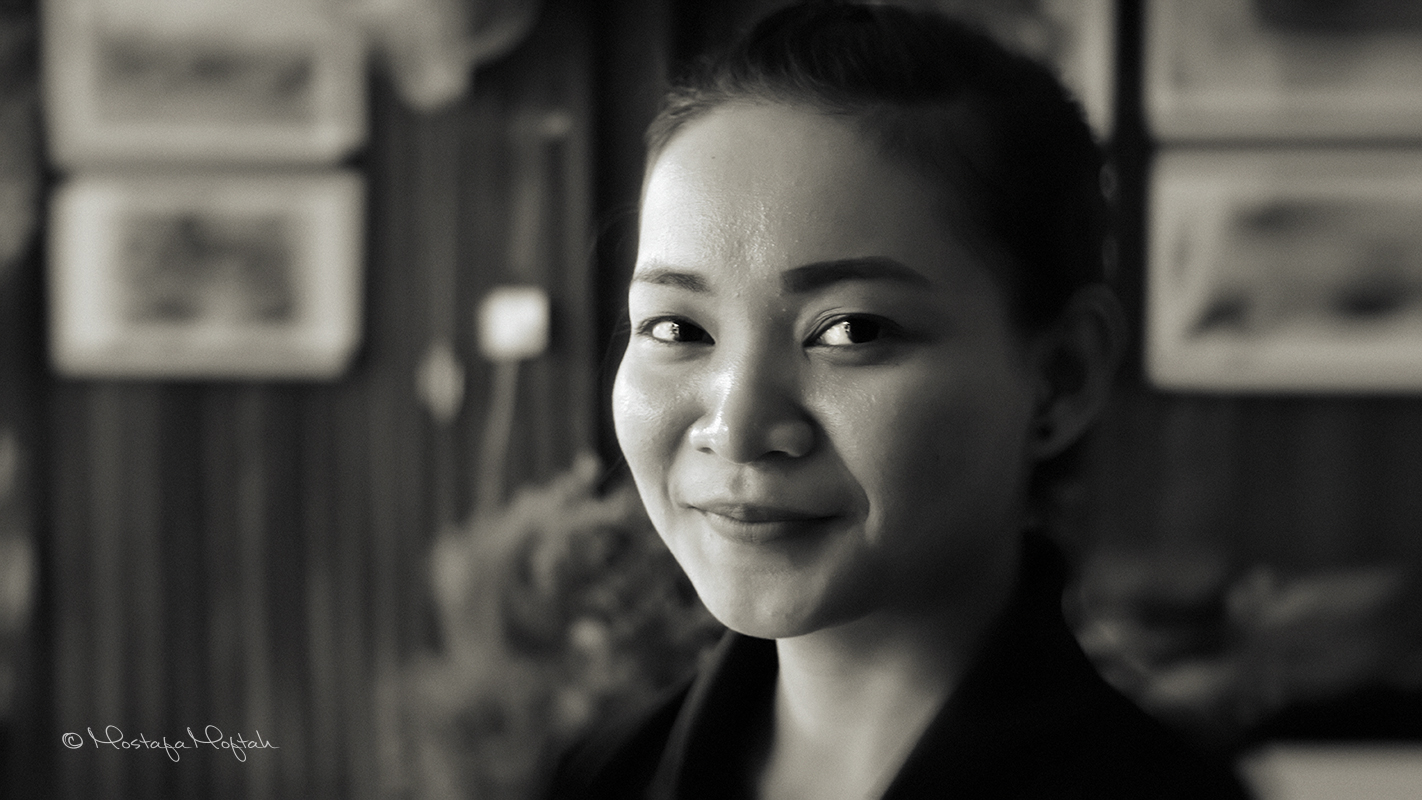 A Face from Cambodia