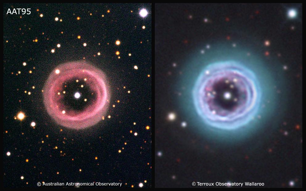 Comparison with a 4metre class telescope