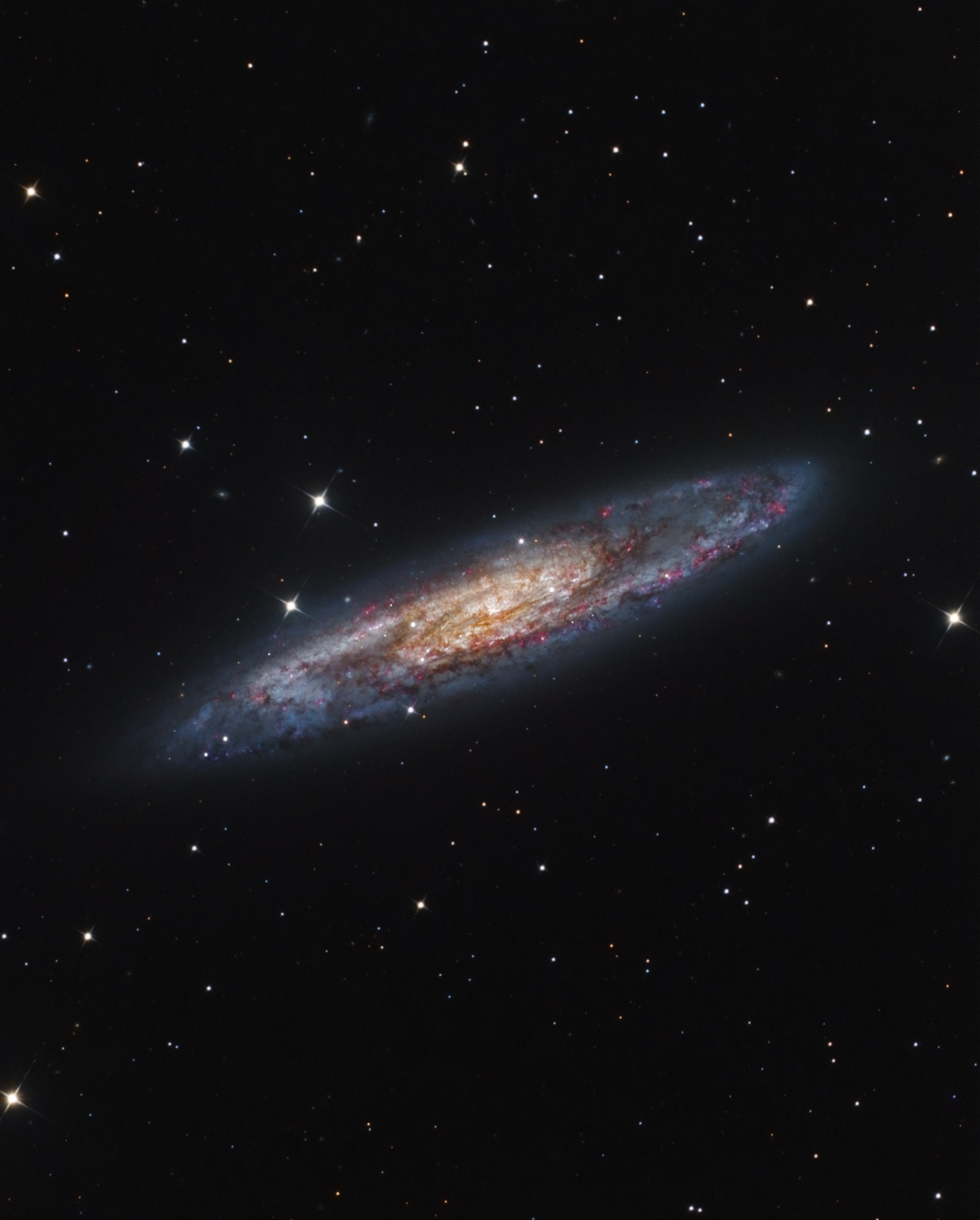 NGC 253 in Sculptor