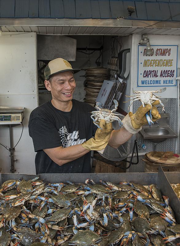 The happy fishmonger (2)