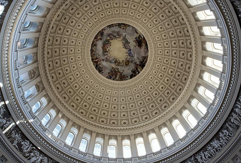 Dome over the Rotunda