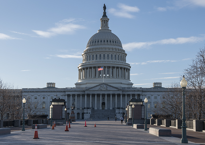 US Capitol, east side
