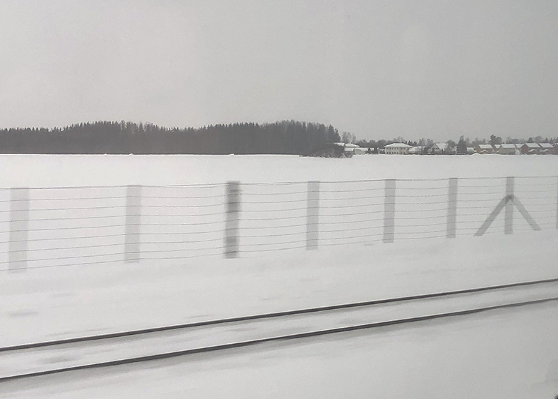 On the way in to Oslo