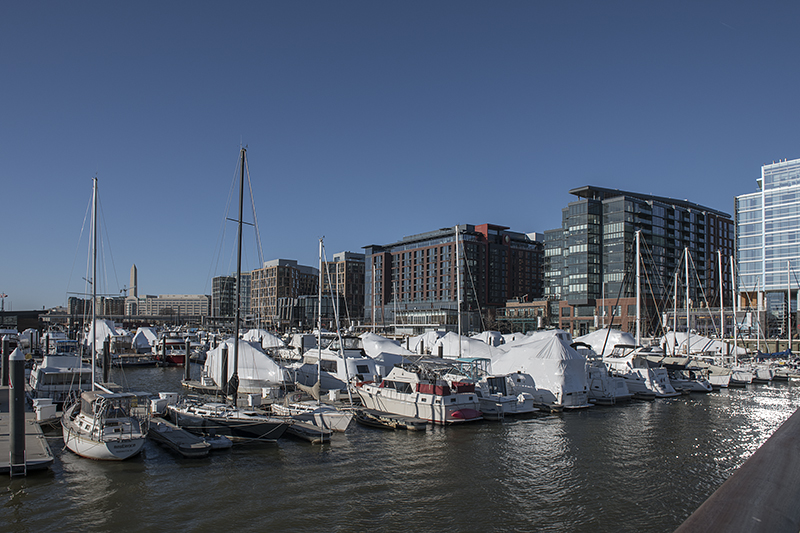 The new District Wharf