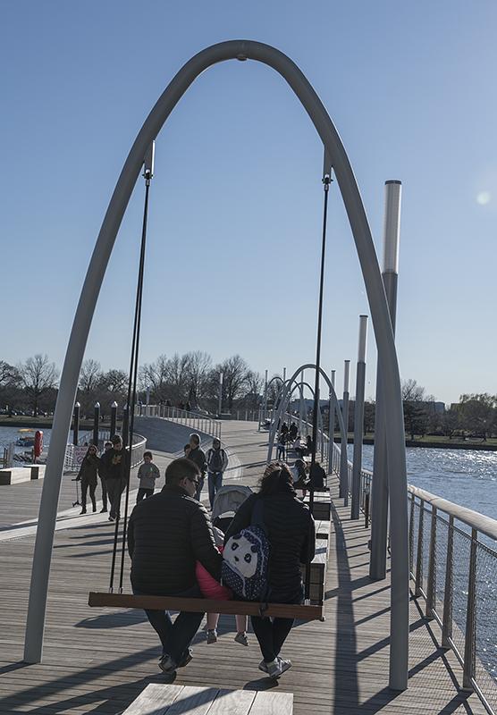 Recreation pier, District Wharf