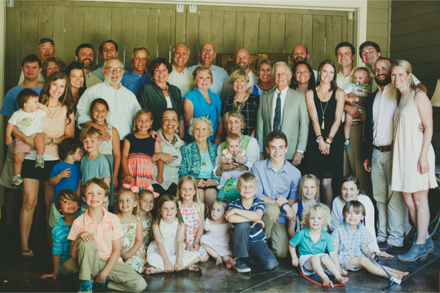 Mother's Day with Mom and some of her grandchildren and greats and a couple of cousins.  See if you can figure out who is who…