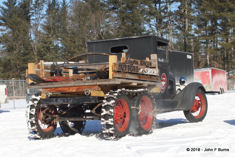 1929 Ford Model AA Truck Snowmobile