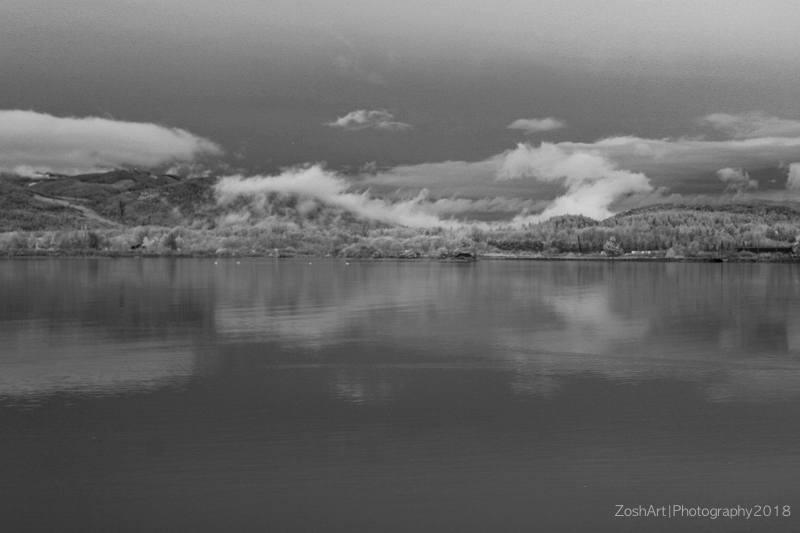 Zosia Miller<br> A North East View-Infrared