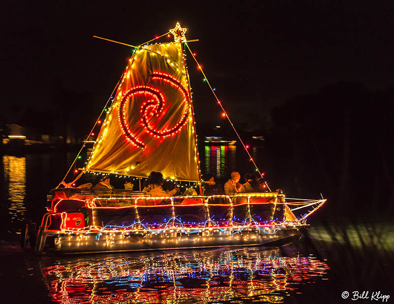 Willow Lake Boat Parade  22  --  2019 Town of Discovery Bay Calendar Winner