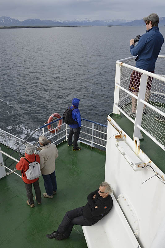 Ferry from Stykkishólmur to Brjánslaekur