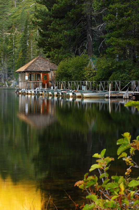 Sardine Lake Boathouse
