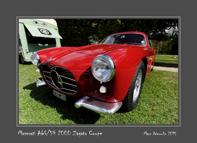 MASERATI A6G/54 2000 Zagato Coupe Chantilly France