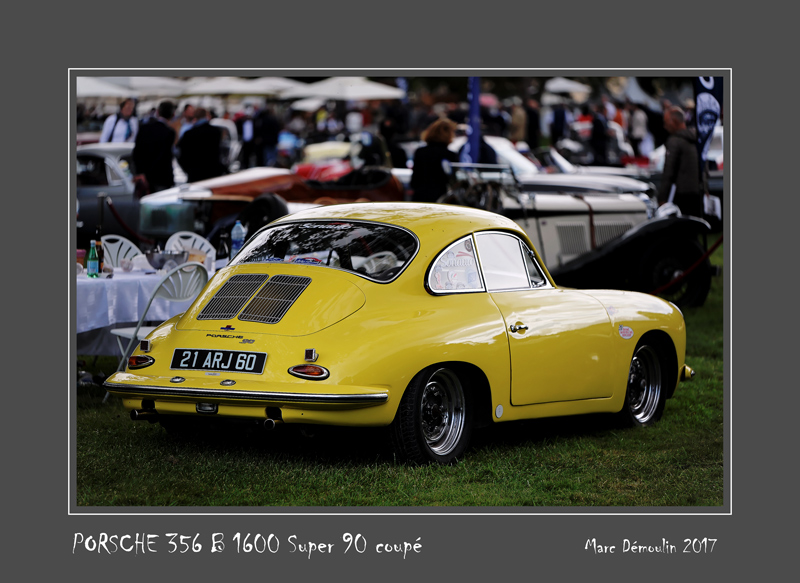 PORSCHE 356 B 1600 Super Coupe Chantilly - France