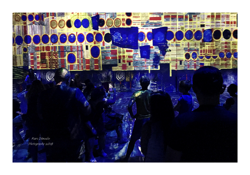 Light Show in lAtelier des Lumières Paris 2018 - 4